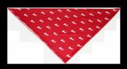 Chusta wielofunkcyjna czerwona w koniki - COMODO