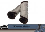 Ochraniacze z futerkiem SOFTSLATE PLATINUM EDITION 2020/21 - Eskadron - greige