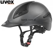 Kask EXXENTIAL - UVEX - anthracite matowy