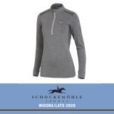 Bluza PAGE SS20 - Schockemohle - grey melange/rose