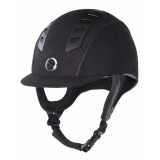 Kask EQ3 Microfiber - Back on Track - czarny