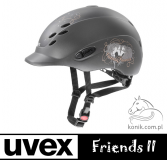Kask ONYXX FRIENDS II - Uvex - anthracite