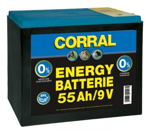 Bateria 55Ah/9V - Corral