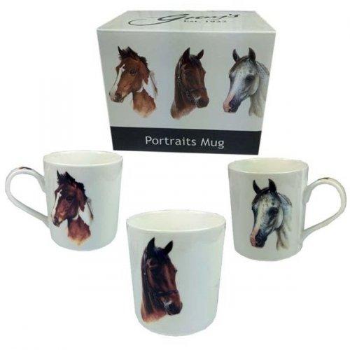 Kubek Horse Portraits - GRAY'S