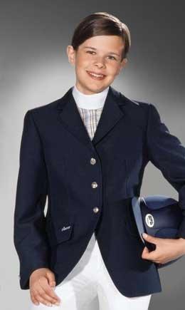 Marynarka konkursowa młodzieżowa Fabienne navy - PIKEUR