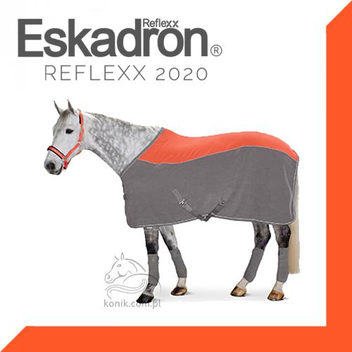Derka polarowa Eskadron BICOLOR CURVED Reflexx wiosna/lato 2020 - neon/grey