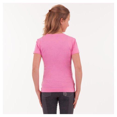 Koszulka dziecięca ze srebrnym nadrukiem ANKY - pretty pink
