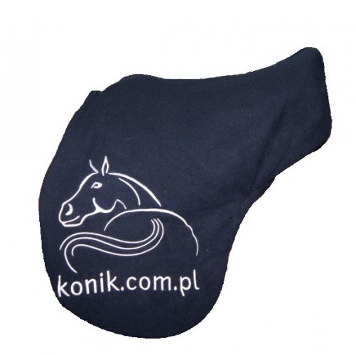 Pokrowiec na siodło - Konik Logo