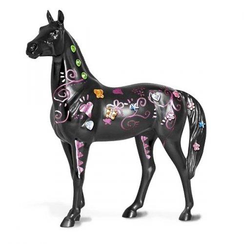 Koń do malowania + metaliczny marker - BREYER