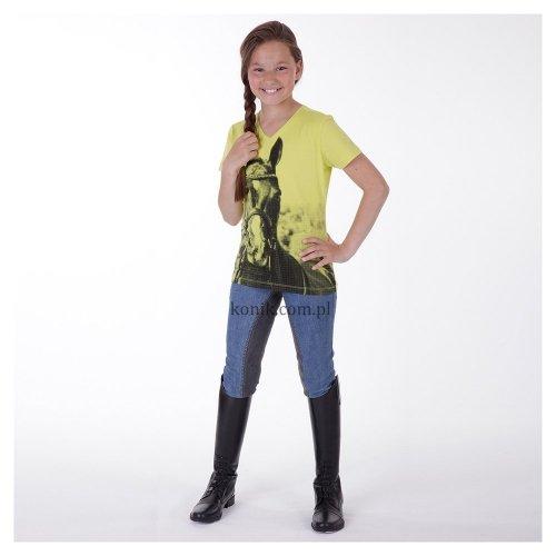 Koszulka dziecięca z nadrukiem ATK151302 - ANKY - LIME