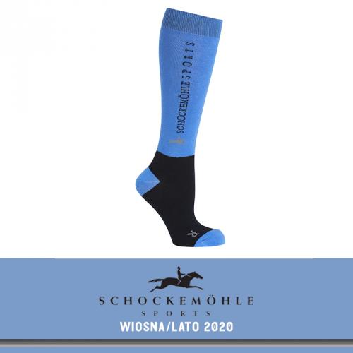 Podkolanówki SPORT SS20 - Schockemohle - sapphire