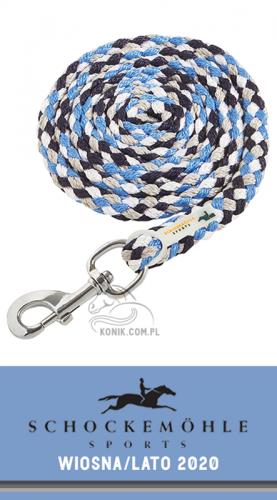 Uwiąz z karabińczykiem zwykłym SS20 - Schockemohle - moonlight blue/sapphire