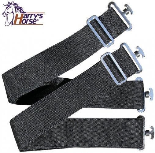 Pasy krzyżowe do derki elastyczne, pod brzuch - HARRY'S HORSE
