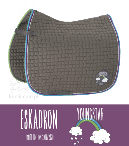 Potnik COTTON - YOUNGSTAR 2019/20 - Eskadron - koala grey