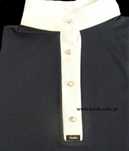 Damska koszula konkursowa GALLA ozdobne guziczki