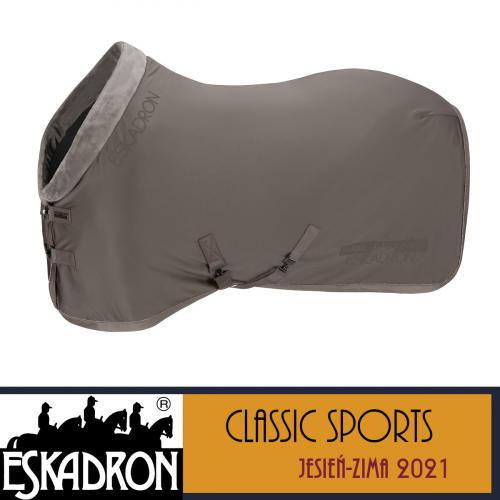 Derka SOFTSHELL FAUXFUR COLLAR - Classic Sports A/W 21 - Eskadron - steel grey