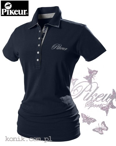 Koszulka polo Pikeur DOLLY - navy