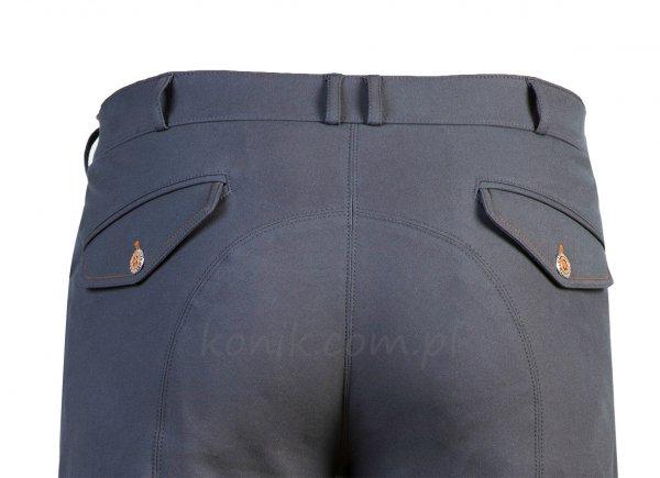 Bryczesy męskie DRACO z lejem kolanowym i silikonowym - Schockemohle