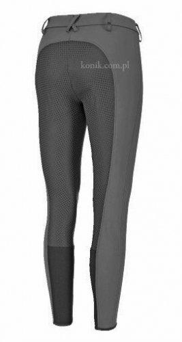 Bryczesy Pikeur LATINA GRIP z silikonowym lejem - steel grey