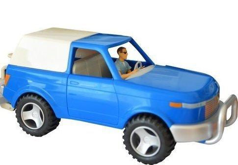 Zestaw samochód + jeździec - PAPO