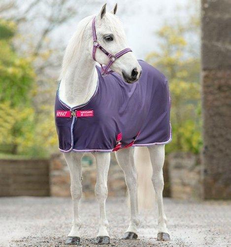 Derka osuszająca AMIGO Jersey Cooler Pony - HORSEWARE - Grape & Pink & White & Powder Blue