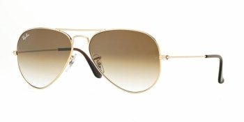 OKULARY RAY-BAN® AVIATOR  RB 3025 001/51 55