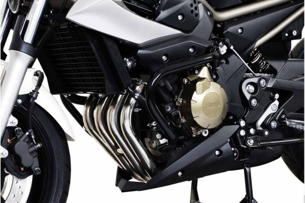 CRASHBAR/GMOL YAMAHA XJ-6 DIVERSION (09-) BLACK SW-MOTECH