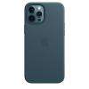 Apple Skórzane etui z MagSafe do iPhone'a 12 / 12 Pro – bałtycki błękit