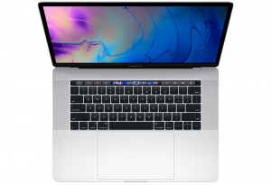 MacBook Pro 15 Retina True Tone i9-8950HK / 32GB / 256GB SSD / Radeon Pro 555X / macOS / Silver