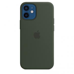 Apple Silikonowe etui z MagSafe do iPhone'a 12 / 12 Pro – cypryjska zieleń