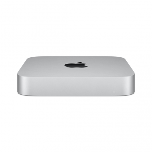 Mac mini z Procesorem Apple M1 - 8-core CPU + 8-core GPU /  16GB RAM / 256GB SSD / Gigabit Ethernet / Silver (srebrny) 2020 - nowy model
