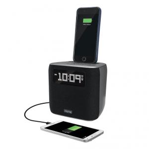 iHome iPhone Dual Charging Dock Station / Radio FM / Zegar / Budzik