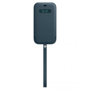 Apple Skórzany futerał z MagSafe do iPhone'a 12 / 12 Pro - bałtycki błękit