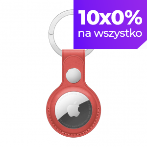 Apple Skórzany brelok do AirTaga -  (PRODUCT)RED