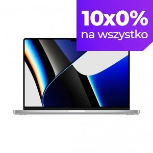 Apple MacBook Pro 16 M1 Pro 10-core CPU + 16-core GPU / 32GB RAM / 512GB SSD / Srebrny (Silver)