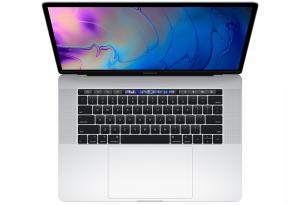 MacBook Pro 15 Retina True Tone i7-8750H / 16GB / 256GB SSD / Radeon Pro 555X / macOS / Silver