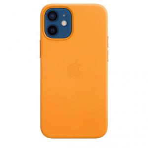 Apple Skórzane etui z MagSafe do iPhone'a 12 mini – kalifornijski mak