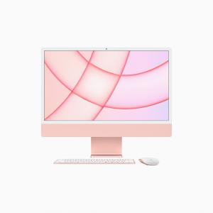 Apple iMac 24 4,5K Retina M1 8-core CPU + 8-core GPU / 16GB / 1TB SSD / Różowy (Pink) - 2021