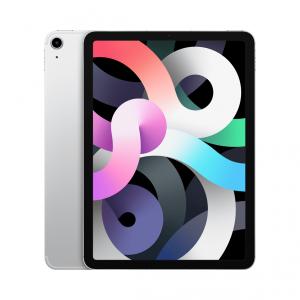 Apple iPad Air 4-generacji 10,9 cala / 256GB / Wi-Fi + LTE (cellular) / Silver (srebrny) 2020 - nowy model