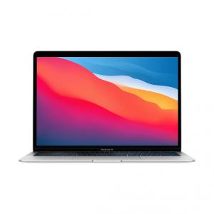 MacBook Air z Procesorem Apple M1 - 8-core CPU + 7-core GPU / 8GB RAM / 256GB SSD / 2 x Thunderbolt / Silver (srebrny) 2020 - outlet