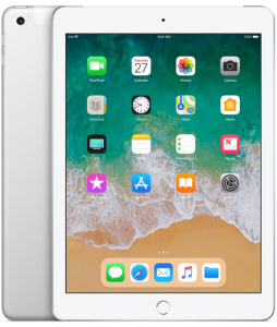 iPad 6-gen 9,7 128GB LTE + Wi-Fi Silver