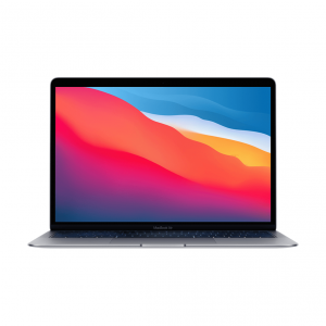 MacBook Air z Procesorem Apple M1 - 8-core CPU + 8-core GPU /  8GB RAM / 1TB SSD / 2 x Thunderbolt / Space Gray