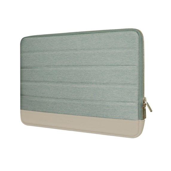 KMP Sleeve Pokrowiec do MacBook Pro 13 / iPad Pro 12,9 Mint / Beige (miętowo-beżowy)