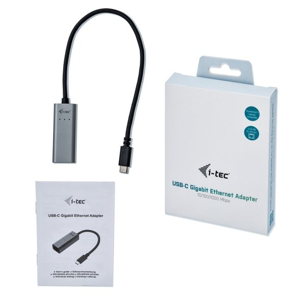 i-tec USB-C Metal Gigabit Ethernet Adapter