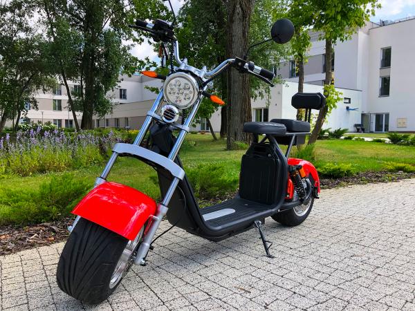 Hulajnoga elektryczna - Skuter ECO HIGHWAY 1500W z homologacją