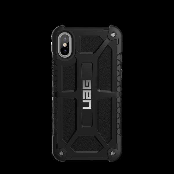 UAG Monarch - obudowa ochronna do iPhone X (czarna matowa)