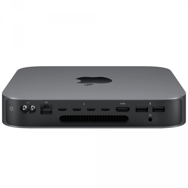 Mac mini i3-8100 / 16GB / 128GB SSD / UHD Graphics 630 / macOS / 10-Gigabit Ethernet / Space Gray