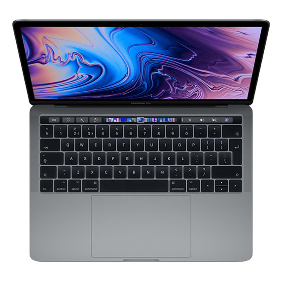 MacBook Pro 13 Retina Touch Bar i5 1,4GHz / 8GB / 1TB SSD / Iris Plus Graphics 645 / macOS / Space Gray (2019)