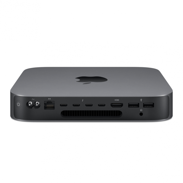 Mac mini i3 3,6GHz / 8GB / 512GB SSD / UHD Graphics 630 / macOS / Gigabit Ethernet / Space Gray (gwiezdna szarość) 2020 - nowy model