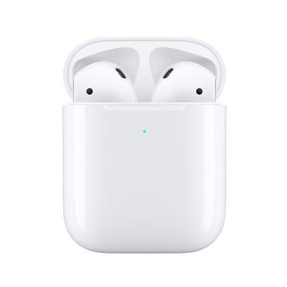 Apple AirPods (2-generacji) Słuchawki bezprzewodowe z bezprzewodowym Etui ładującym